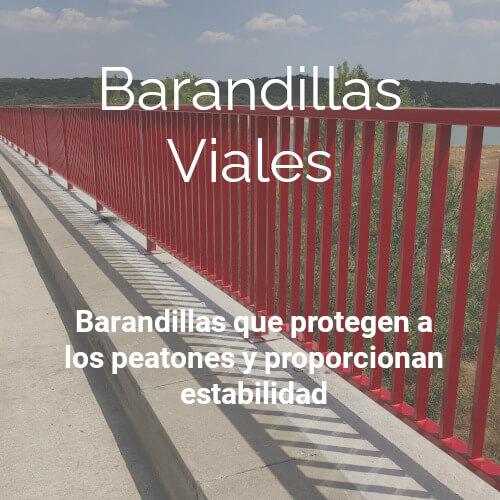 Barandillas | Viales | Proteccion | Peatones | Estabilidad | Insametal