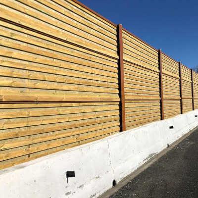 Panel | Acustico | Madera | Insametal | Absorbente | Carretera | Ferroviario