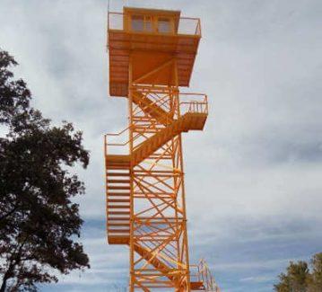 Insametal | Torres | Seguridad | Metalico | Metalica | Forestal | Vigilancia | Ensamblaje | Contactar | Otros proyectos