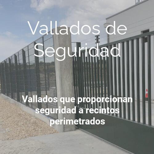 Vallados | Seguridad | Insametal | Tunel | Pasamanos | Anti-vandalismo | Cerramiento | Metalico